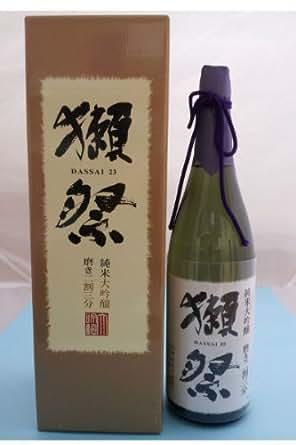 獺祭 (だっさい) 純米大吟醸 遠心分離 磨き二割三分 DX紙箱入 旭酒造 1800ml