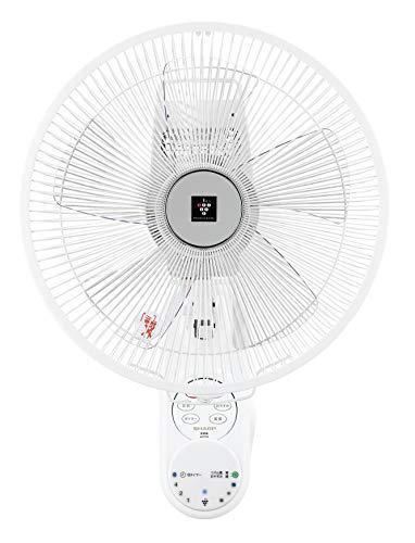 シャープ 扇風機 壁掛け プラズマクラスター リモコン付 空気清浄 消臭 ホワイト PJ-J3AK-W