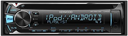 KENWOOD MP3/WMA/AAC/WAV対応CD/USBレシーバー U400