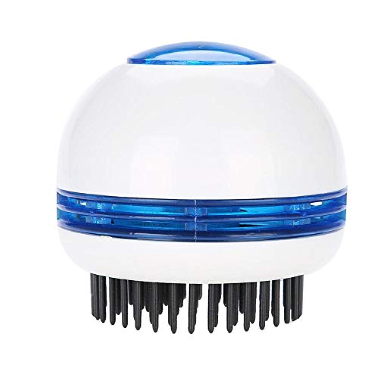 さらに納屋ダンプTOPINCN 電気 マッサージブラシ ヘッドマッサージャー 帯電防止 頭皮のリラクゼーション ストレス緩和 ヘアスクラバーブラシ