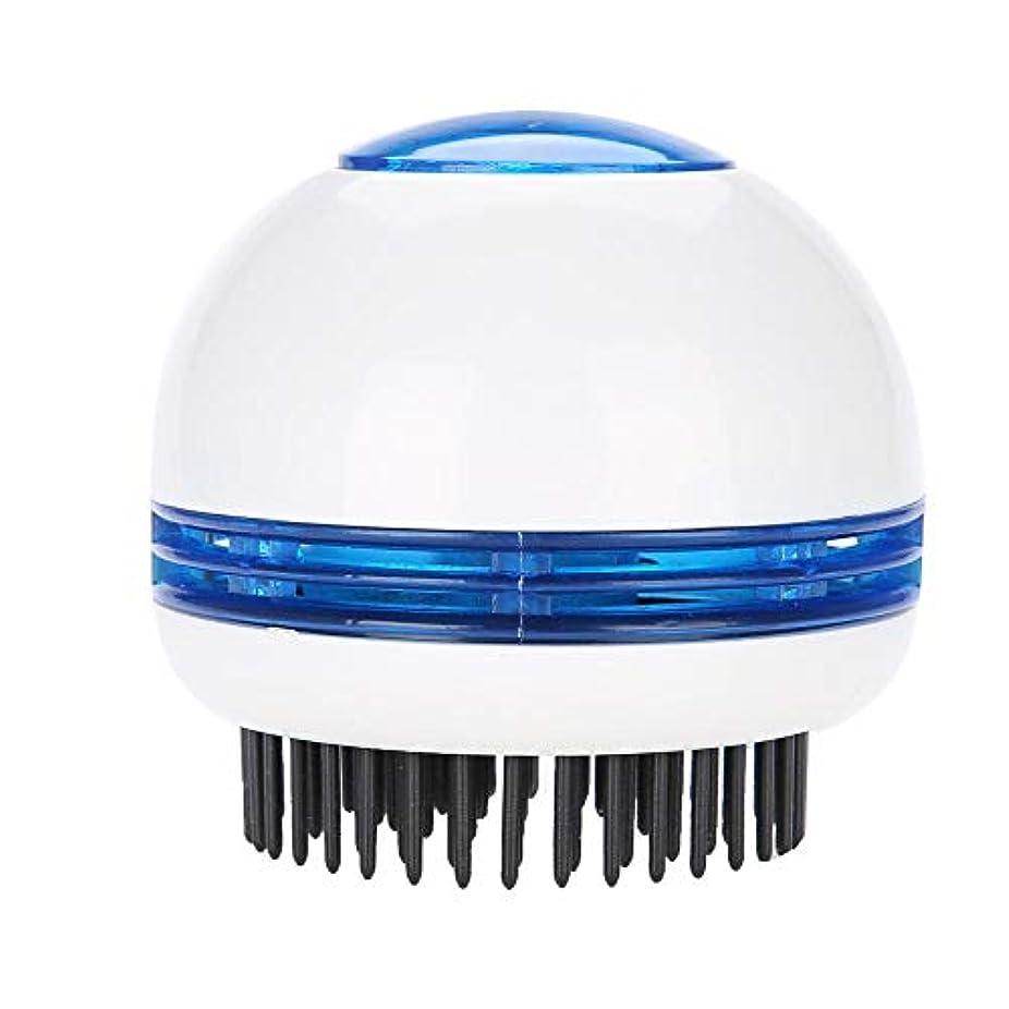 ショッキングブリーフケース定期的TOPINCN 電気 マッサージブラシ ヘッドマッサージャー 帯電防止 頭皮のリラクゼーション ストレス緩和 ヘアスクラバーブラシ