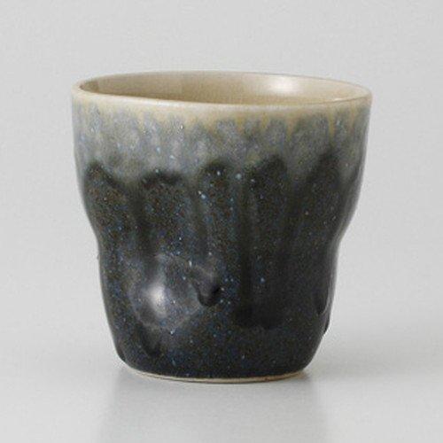 青流 ロックカップ [ 8.9 x 8.5cm 340cc 238g ] 【 フリーカップ 】 【 料亭 旅館 居酒屋 割烹 和食器 飲食店 業務用 】