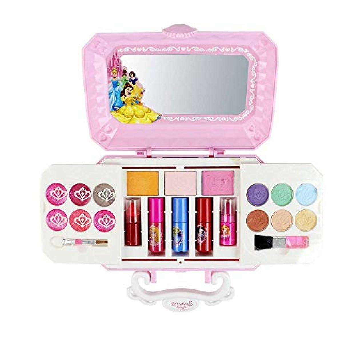 威信騒乱名誉ある子供用美容化粧品セット、(22パック)パウダーケーキパフアイシャドウマニキュアメイクアップブラシなど化粧品メイクアップセットが含まれています