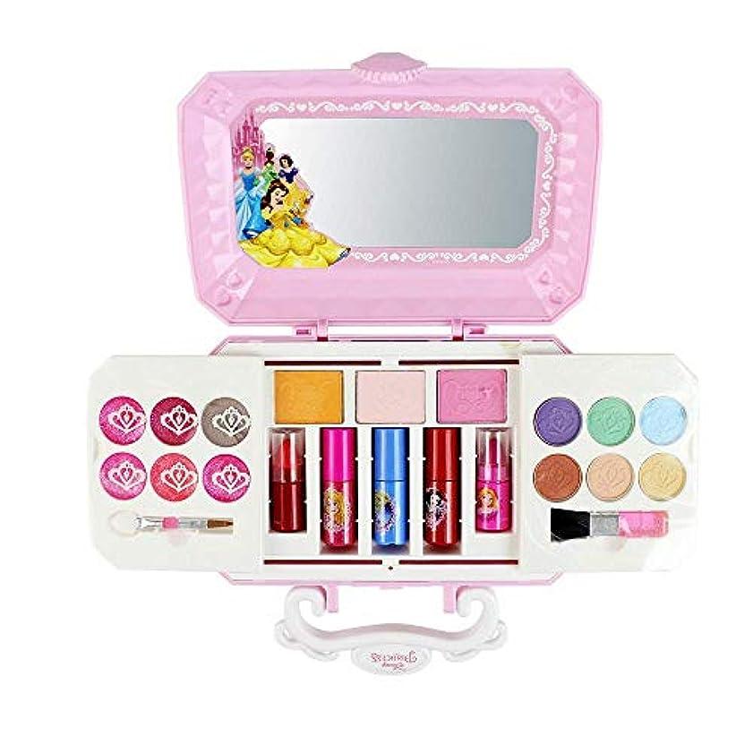 郊外フォアタイプ人気の子供用美容化粧品セット、(22パック)パウダーケーキパフアイシャドウマニキュアメイクアップブラシなど化粧品メイクアップセットが含まれています