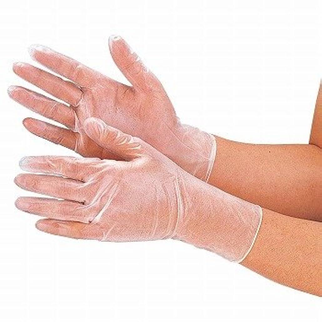 不器用下着枠おたふく手袋/抗菌プラスチックディスポ手袋 100枚入×12セット[総数1200枚]/品番:250 サイズ:S