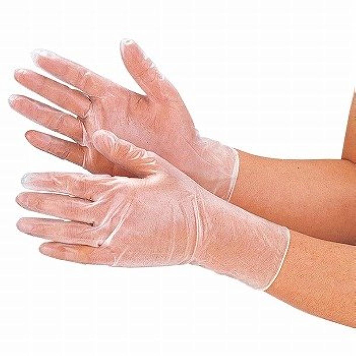 クレーンファイバがんばり続けるおたふく手袋/抗菌プラスチックディスポ手袋 100枚入×12セット[総数1200枚]/品番:250 サイズ:M