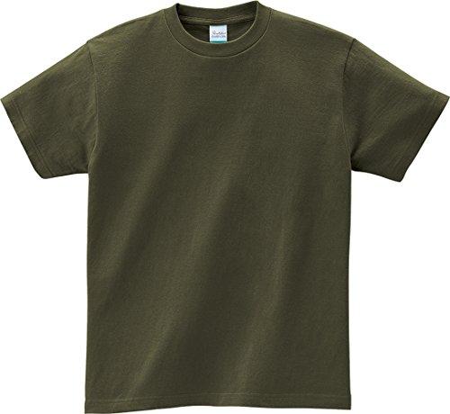 半袖 5.6オンス へヴィー ウェイト Tシャツ 00085-CVT キッズ アーミーグリーン 日本サイズ 100cm