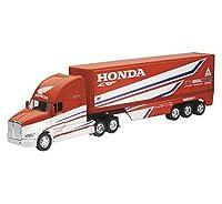 ミニカー 1/32 NEWRAY☆ Kenworth Trailer - Team Honda HRC トレーラートラック