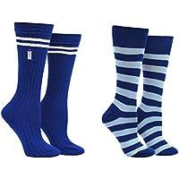Doctor Who 13th Doctor Socks Women & Girls (2 Pair) - Doctor Who Merchandise Crew Socks - Fits Shoe Size: 4-10 (Ladies)