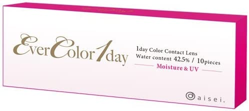 エバーカラー Ever Color 1day 01 シルキートパーズ 10枚入 (PWR) 0.00