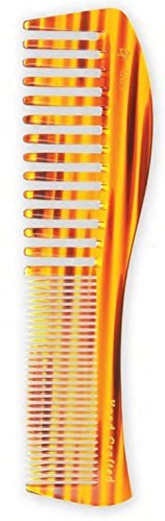 組み合わせ迷路端Creative Hair Brushes Handcrafted Blond Tortoise Comb C661 [並行輸入品]