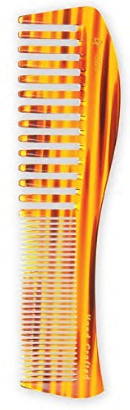 困惑したマラウイ誓約Creative Hair Brushes Handcrafted Blond Tortoise Comb C661 [並行輸入品]