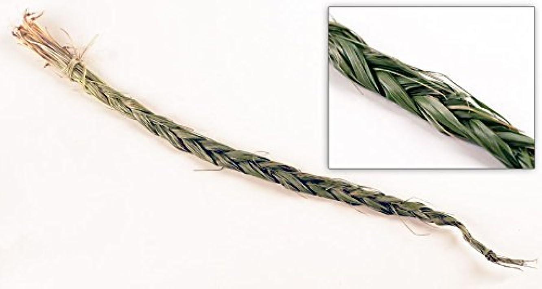 散らす繊維必要Sweetgrass三つ編み