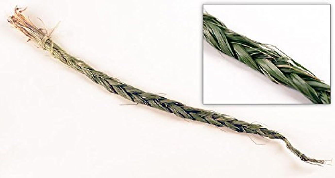 蛇行切手出費Sweetgrass三つ編み