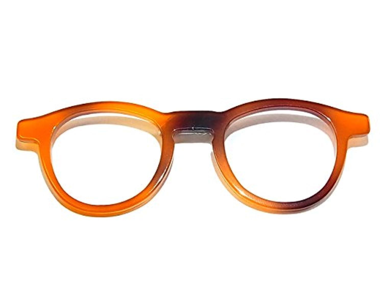 Luccica ルチカ 『 オクチャリー ブローチ 』 (カラー:ブラウン) アクセサリー かわいい おしゃれ めがね メガネ 眼鏡 ユニーク 知的 珍しい チャーム グッズ ジュエリー 勉強