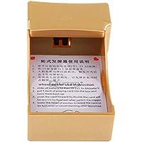 FLAMEER 電気ディーラーシューズ 1デッキ ポーカー カードディーラーシューズ 使いやすい 高品質