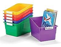 Becker's School Supplies Shelf Files - Wide Size (Set of 6) [並行輸入品]