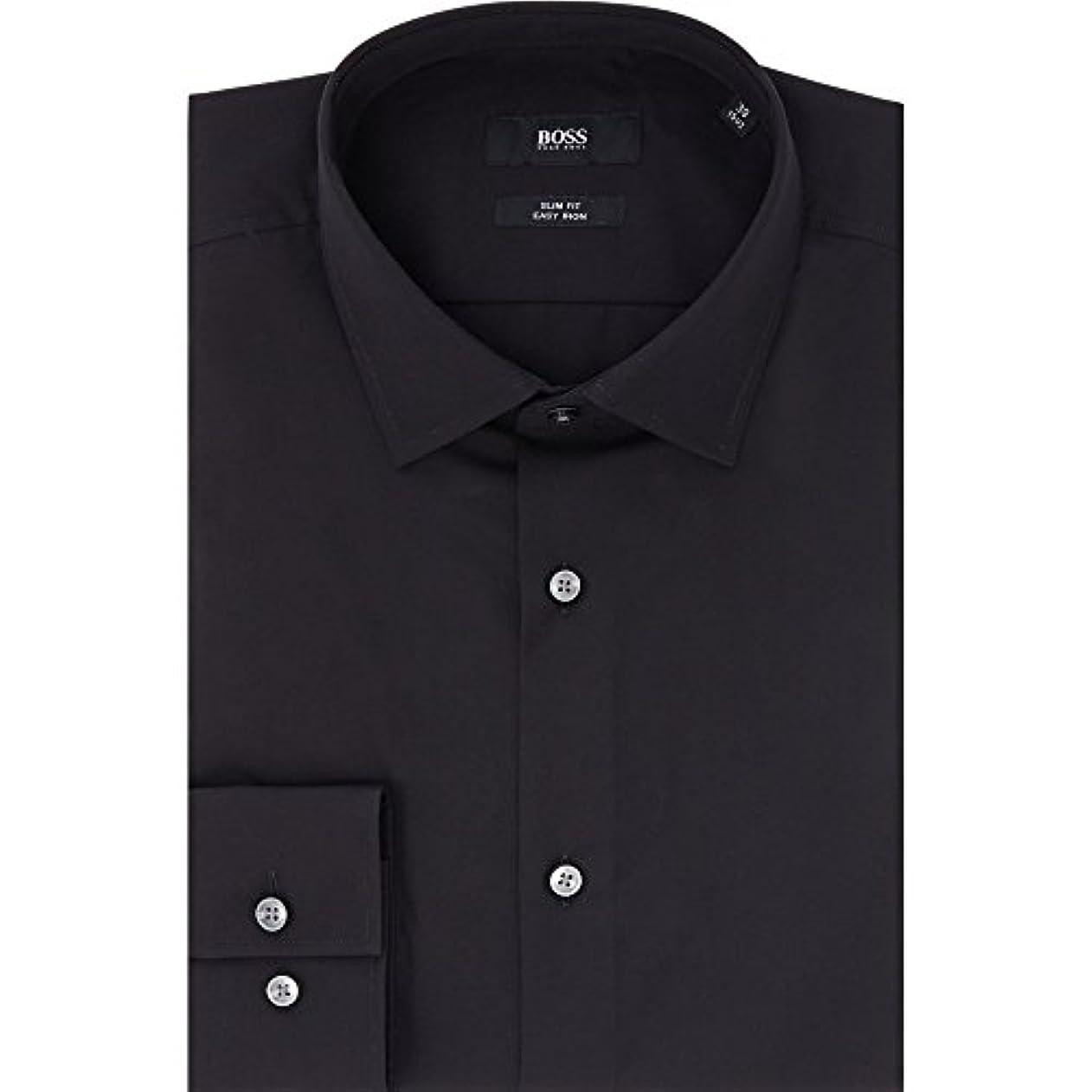 チャペル交換接続された(ヒューゴ ボス) Hugo Boss メンズ トップス シャツ Slim Fit Classic Poplin Shirt [並行輸入品]