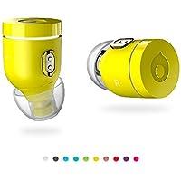 Crazybaby Air (ナノ) トゥルーワイヤレスBluetoothイヤホン充電カプセル、Bluetooth 5.0対応、終日バッテリー寿命のマイク。 MC7BDGT/A