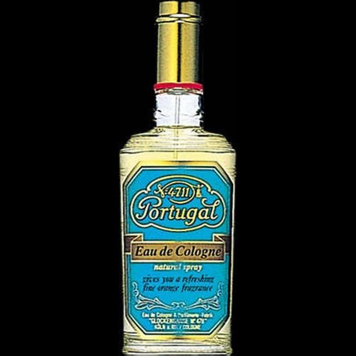 スコットランド人競うシャンパン【まとめ買い】4711 ポーチュガル オーデコロン ナチュラルスプレー 80ml ×2セット