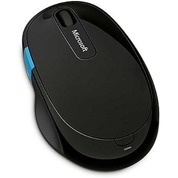 マイクロソフト ワイヤレス Bluetooth マウス  人間工学 高精細読み取りセンサー Sculpt Comfort Mouse (ブルートラック)  H3S-00007