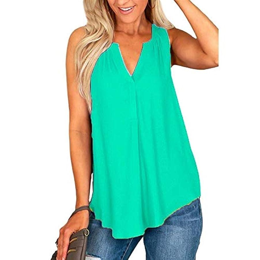 慣性飾る時代遅れMIFAN女性夏カジュアルノースリーブチュニックトップスセクシーオフショルダーディープVネックシャツソリッドカラービーチウェア