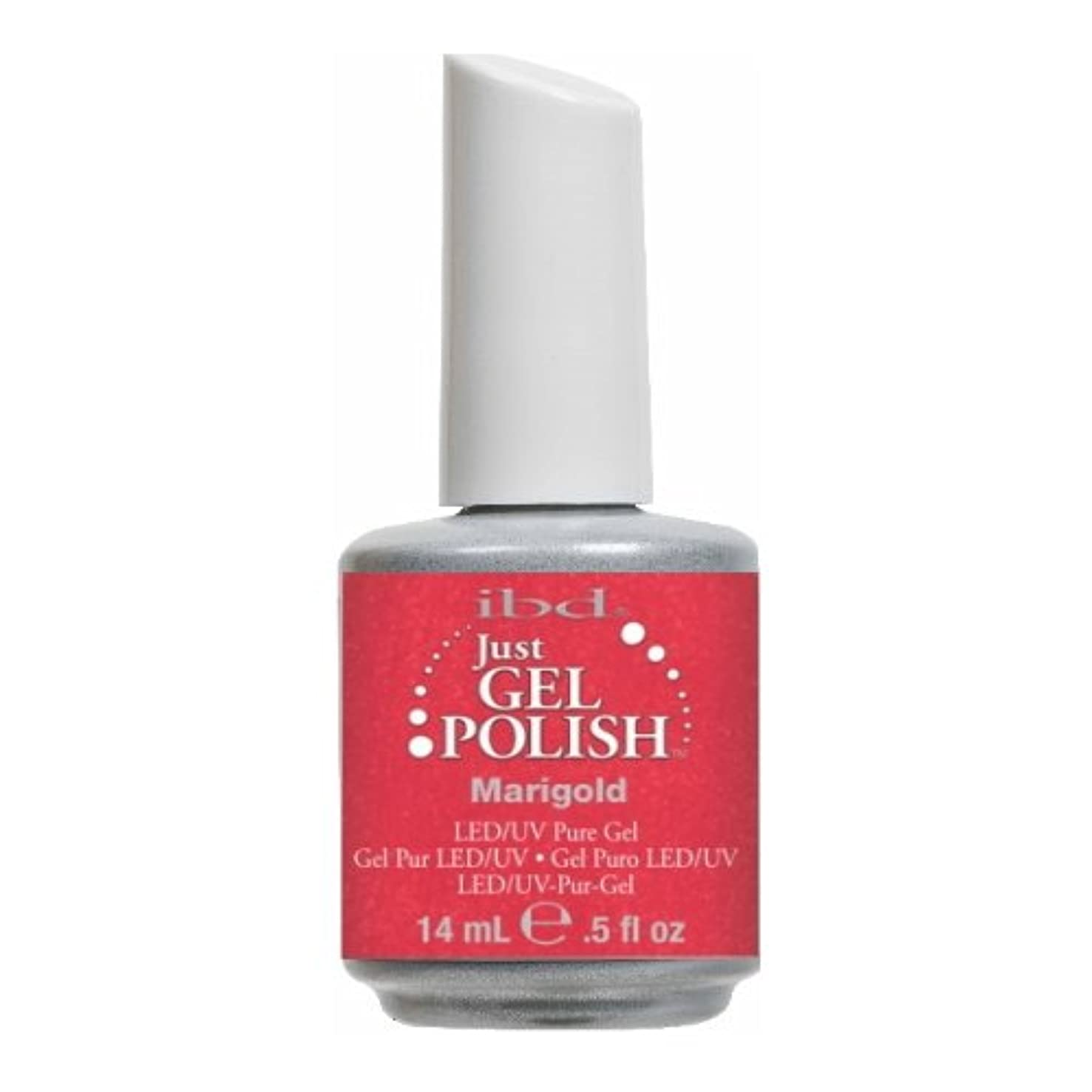 (6 Pack) ibd Just Gel Polish - Marigold (並行輸入品)