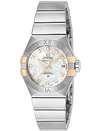 [オメガ]OMEGA 腕時計 コンステレーション ホワイトパール文字盤 コーアクシャル自動巻