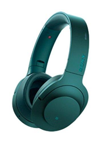 ソニー Bluetooth対応ノイズキャンセリング搭載ダイナミック密閉型ヘッドホン(ビリジアンブルー)SONY h.ear on Wireless NC MDR-100ABN-L