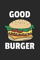 Burger Notizbuch: Burger Notizbuch fuer Liebhaber / Notizheft / Notizblock A5 (6x9in) Dotted Notebook / Punkteraster / 120 gepunktete Seiten