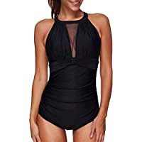 KKONEF Bathing Suits Bikini Swimwear One-Piece Womens Plus Size Swimsuit Push Up