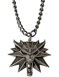 The Witcher 3 Wild Hunt Medallion and Chain