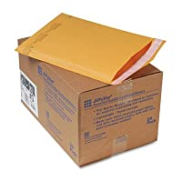 O Sealed Air o–Jiffylite Mailers、self-seal、8–1/ 2x 14–1/ 2、ブラウン、クラフト25/ Ctn