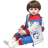 SanyDoll Rebornベビー人形ソフトSilicone 22インチ55 cm磁気Lovely Lifelike Cute Lovely Baby b0763l73dh