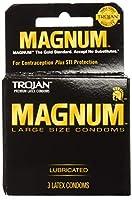 Trojan Condoms Large Size (1) Packof 3 Condoms by Trojan