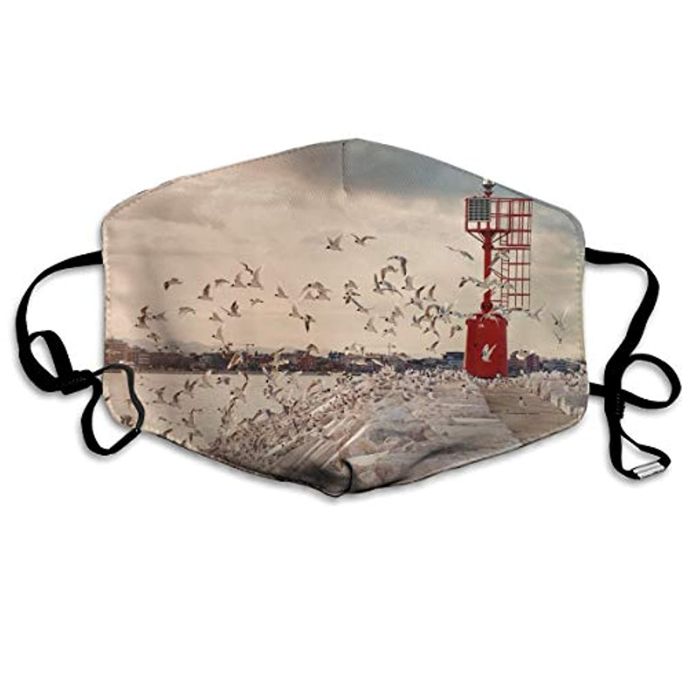 紀元前成長かまどBeach Bird KOUZH マスク マルチガードマスク 洗える 男女兼用 カップル 花粉対策 風邪 防塵 抗菌 防寒 おしゃれ ファッション UVカット 消臭 汚れ分解 立体 レギュラーサイズ ほこり 小顔 インフルエンザ...