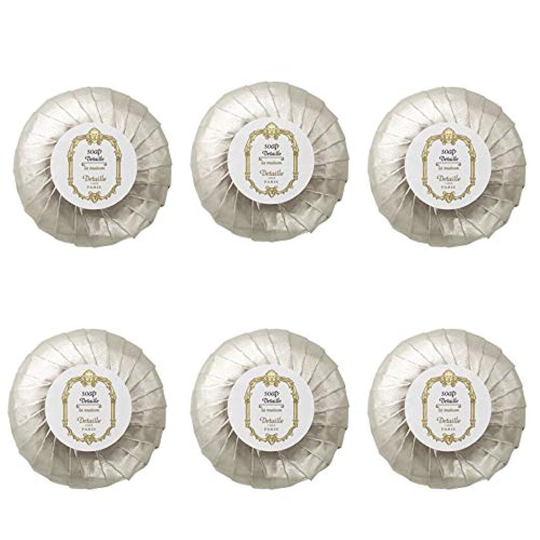 メロディー劇的団結POLA デタイユ ラ メゾン スキンソープ 固形石鹸 (プリーツ包装) 50g×6個