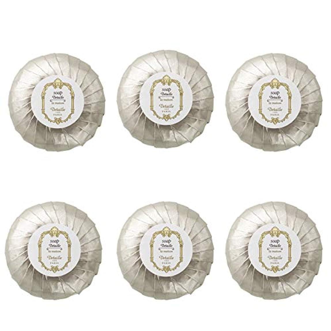 寮エスカレート検出器POLA デタイユ ラ メゾン スキンソープ 固形石鹸 (プリーツ包装) 50g×6個