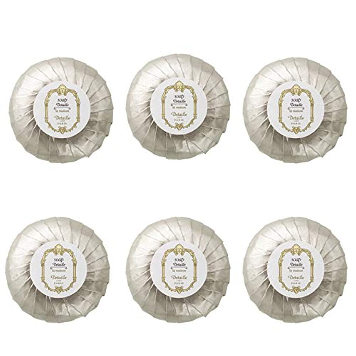 キャンドル愛人助けてPOLA デタイユ ラ メゾン スキンソープ 固形石鹸 (プリーツ包装) 50g×6個