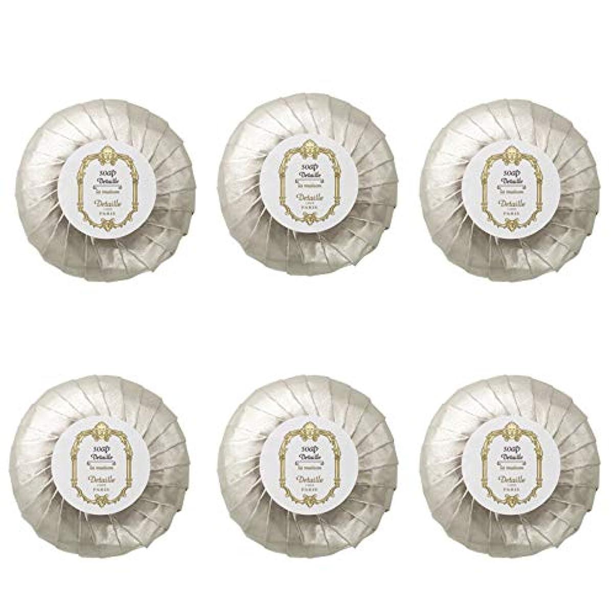 必要性咽頭文明化するPOLA デタイユ ラ メゾン スキンソープ 固形石鹸 (プリーツ包装) 50g×6個