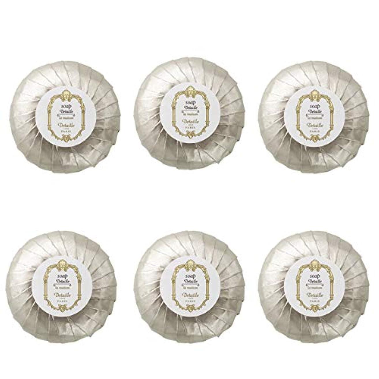 なぜ責め上記の頭と肩POLA デタイユ ラ メゾン スキンソープ 固形石鹸 (プリーツ包装) 50g×6個