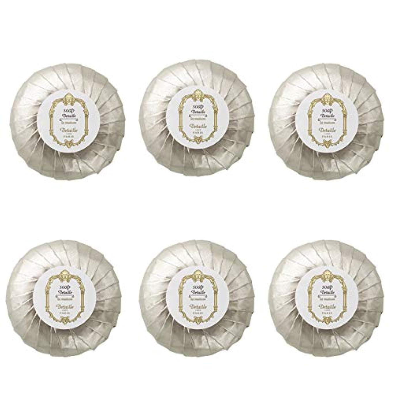 ブラザー反論栄養POLA デタイユ ラ メゾン スキンソープ 固形石鹸 (プリーツ包装) 50g×6個
