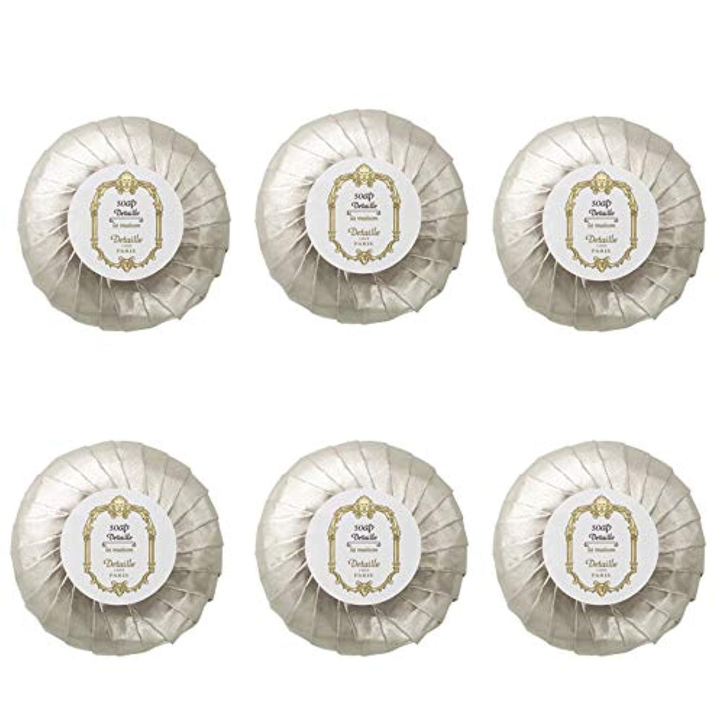 入射知恵なぜPOLA デタイユ ラ メゾン スキンソープ 固形石鹸 (プリーツ包装) 50g×6個