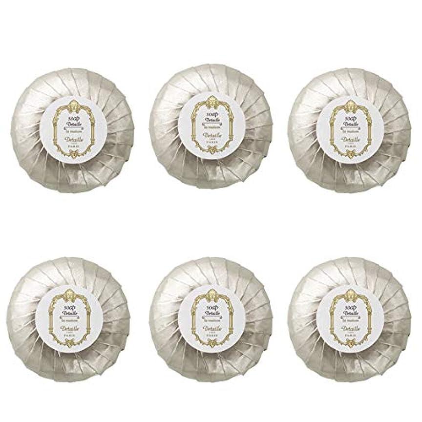 コントロールすり減る考慮POLA デタイユ ラ メゾン スキンソープ 固形石鹸 (プリーツ包装) 50g×6個