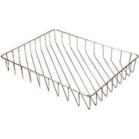 IPOTCH 高品質 A4紙入れ シンプル ファイル収納 バスケット 多用途 便利性 全2色  - ローズゴールド