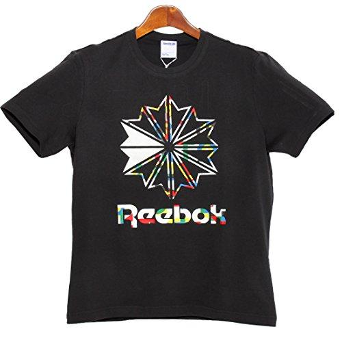 リーボック F ラージ スタークレスト Tシャツ メンズ