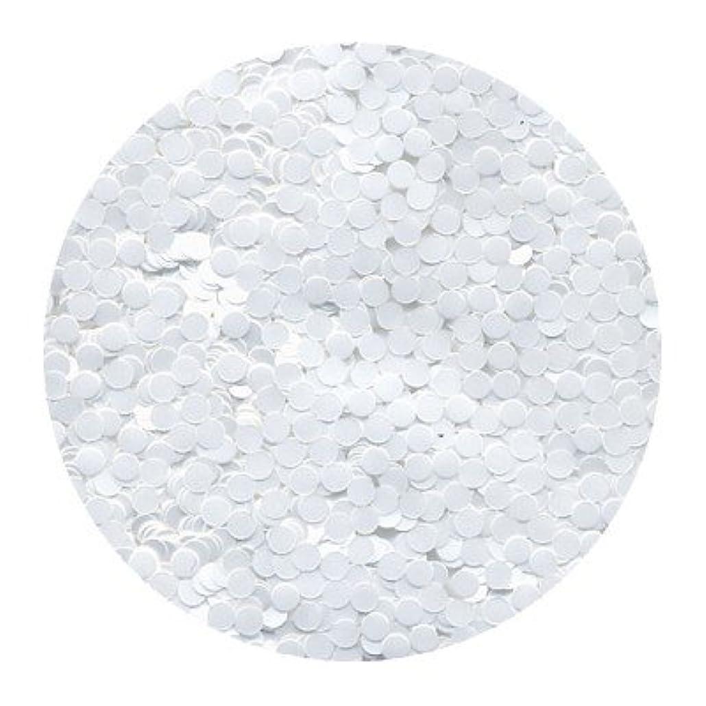 道徳教育改革教えピカエース ネイル用パウダー 丸カラー 2mm #421 ホワイト 0.5g