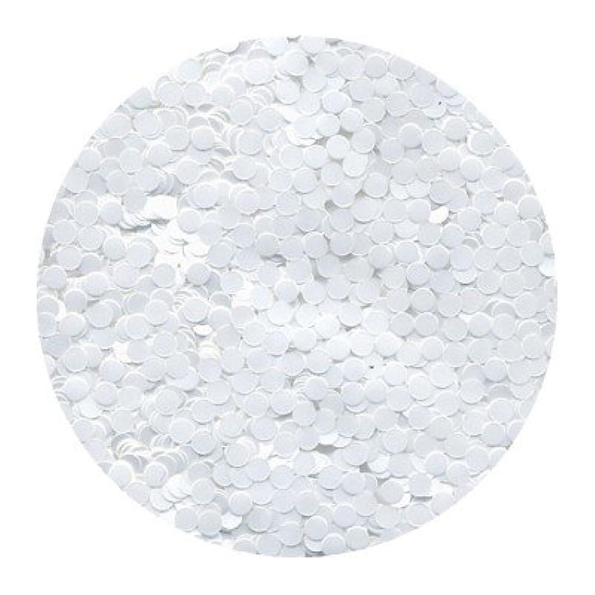 ジョージスティーブンソンアルプス晩餐ピカエース ネイル用パウダー 丸カラー 2mm #421 ホワイト 0.5g