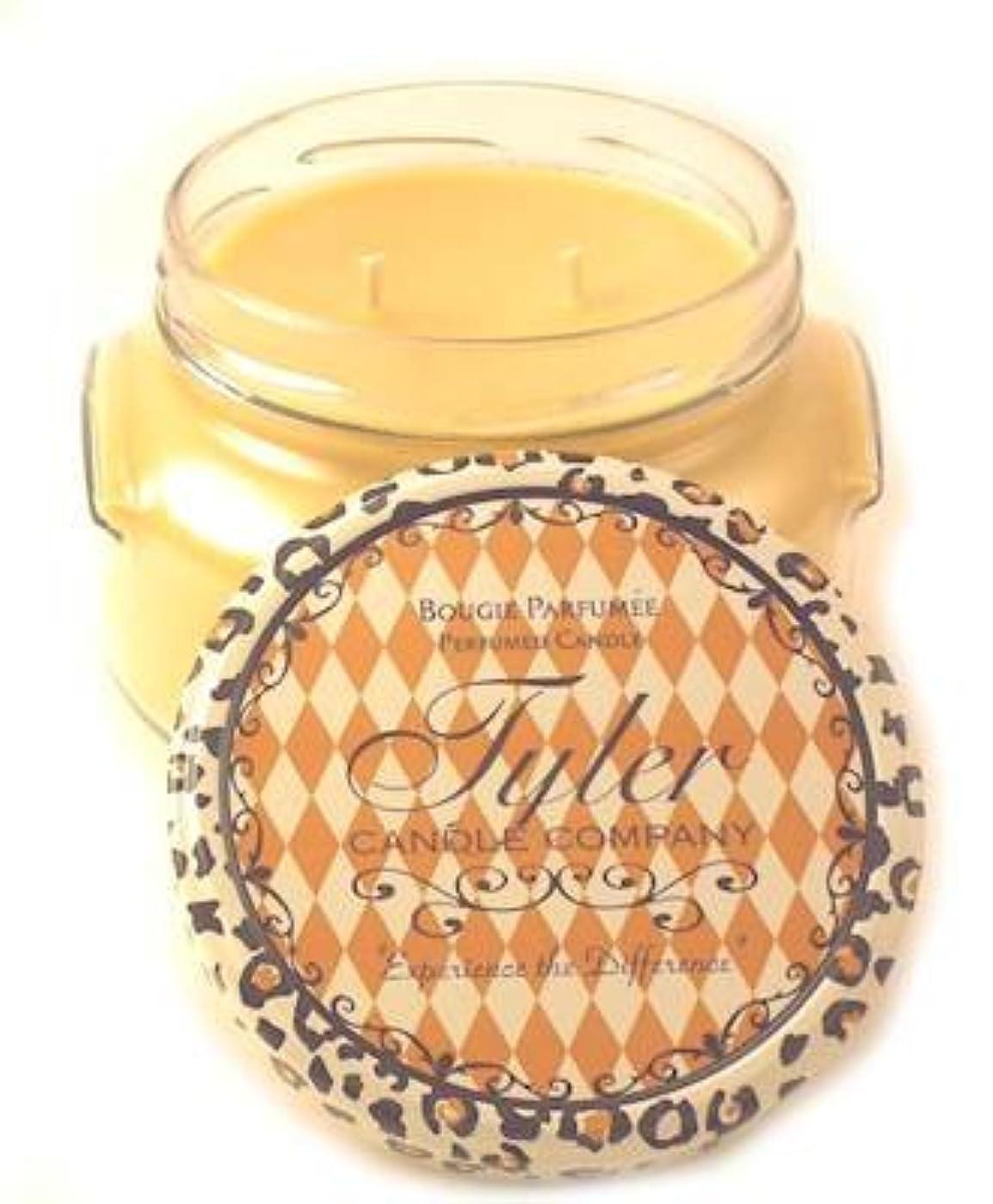 つまらないゆでるバングDrama Tyler 22オンス香りつき2-wick Jar Candle