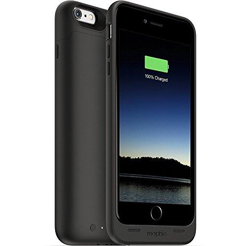 MOPHIE iPhone 6 Plus用 Juice Pack 高耐衝撃/バッテリー内蔵 (2600mAh・ブラック) MFi認証 3084_JP-IP6P-BLK